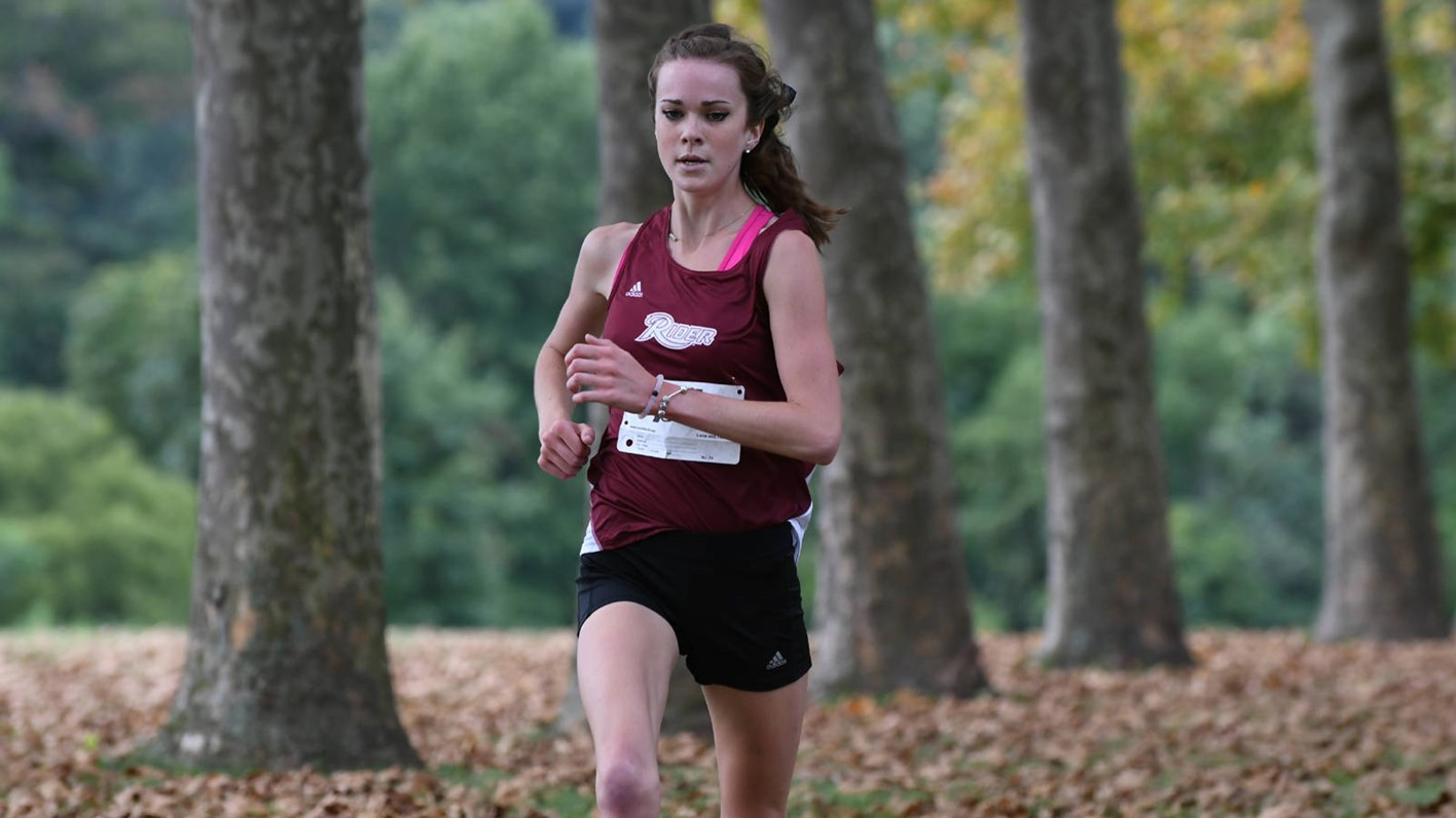 mcgarrity best-ever 2nd at maacs - rider university