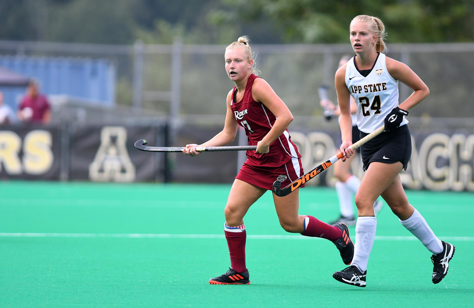 Field Hockey Bounces Back With Win At Towson Rider University